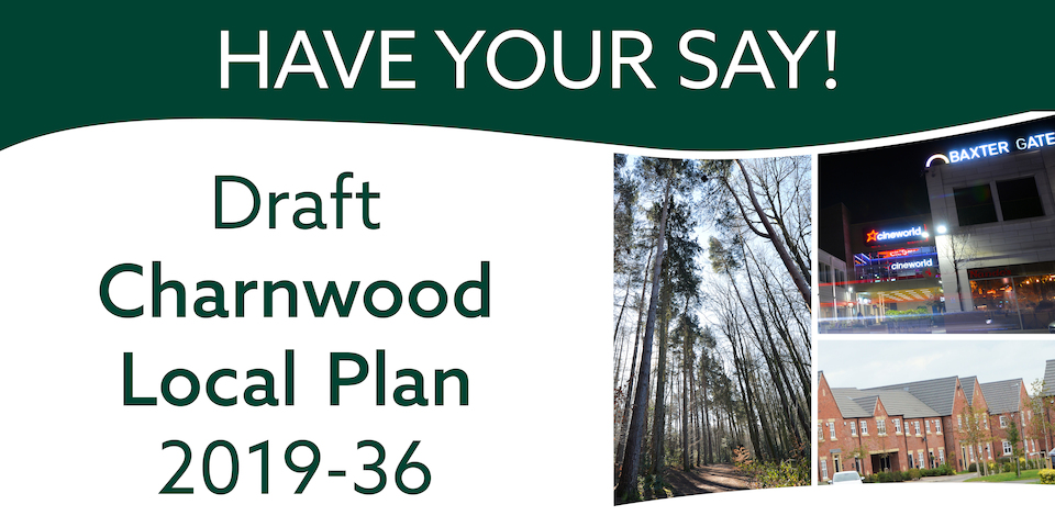 Consultation on draft Charnwood Local Plan 2019-36