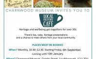 Local History Cafes - September 2019 - January 2020