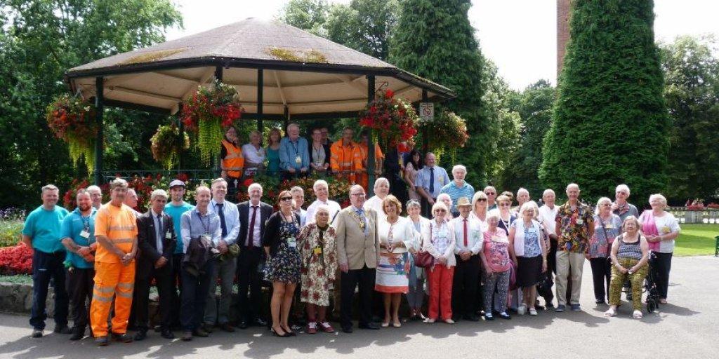 Bloom Board and Volunteers