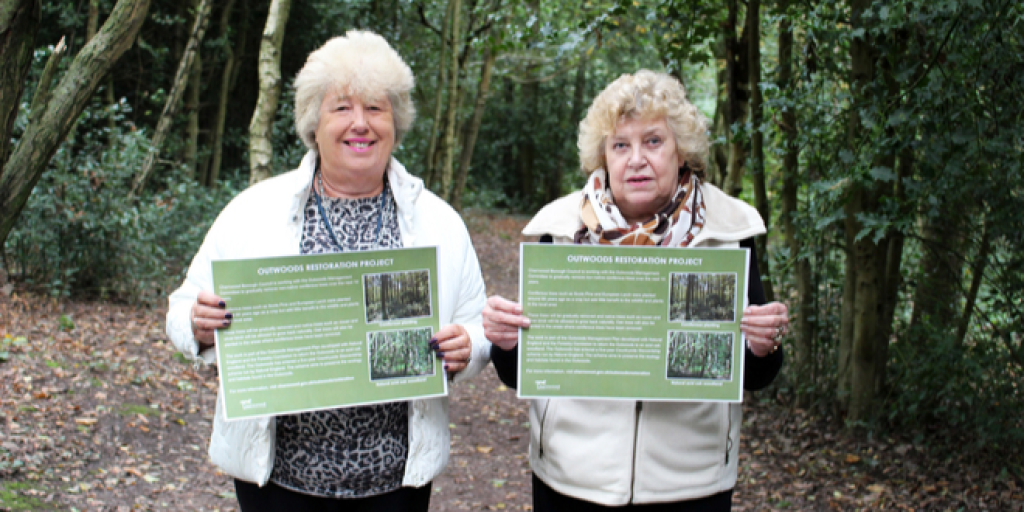 Cllr Bokor and Cllr Fryer - Outwoods