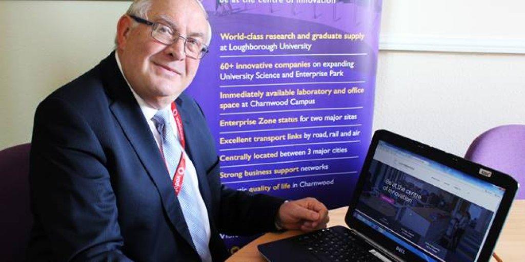 CLLR Eric Vardy, Incharnwood Website Launch