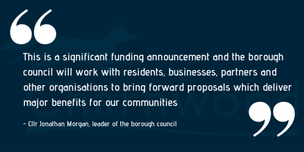 Cllr Morgan Town Centre Quote