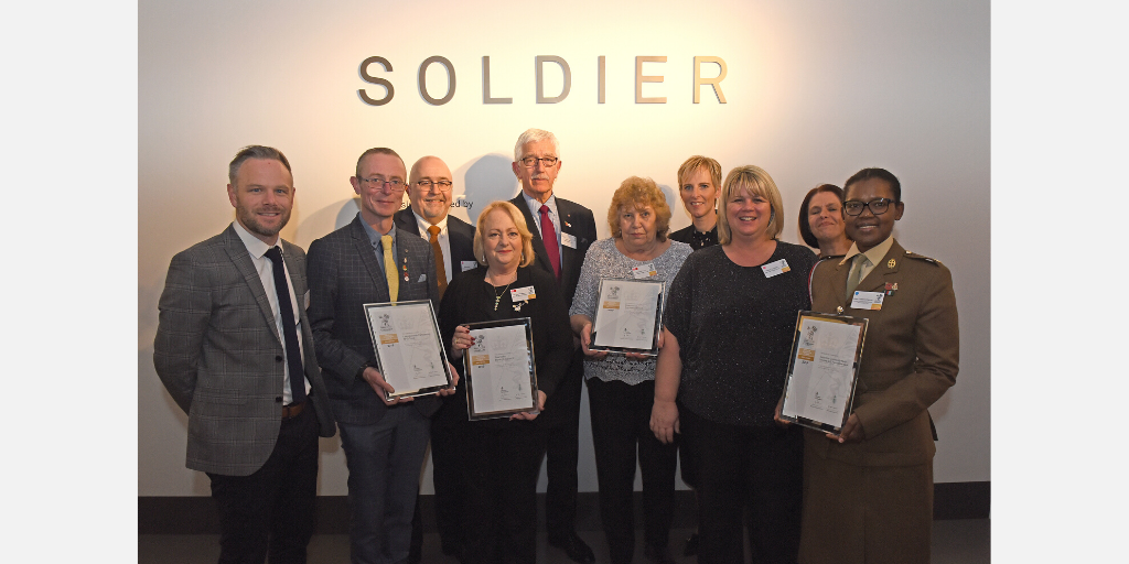 Councils acknowledged for commitment to support members of the Armed Forces