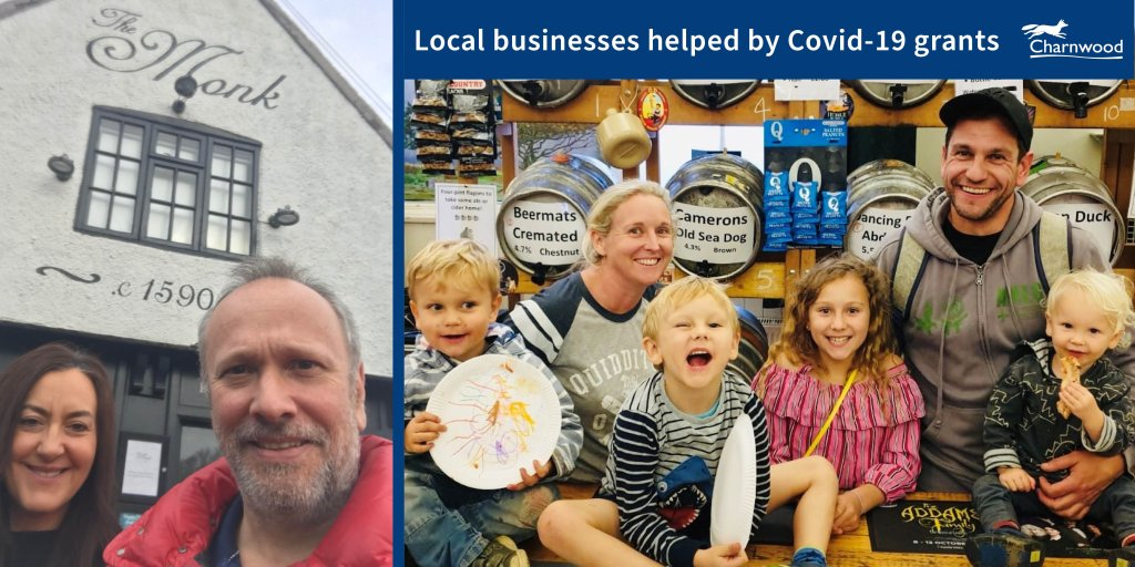 The Monk bar and restaurant in Quorn and the Swan Inn pub in Mountsorrel are just two businesses to have accessed grant funding