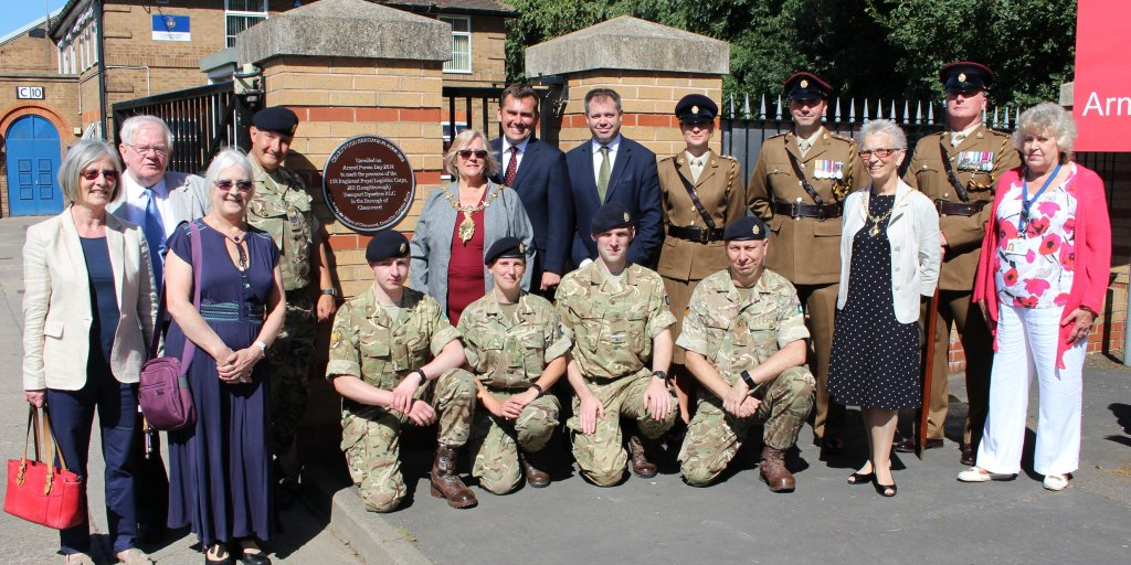 First Charnwood Heritage Plaque Is Unveiled