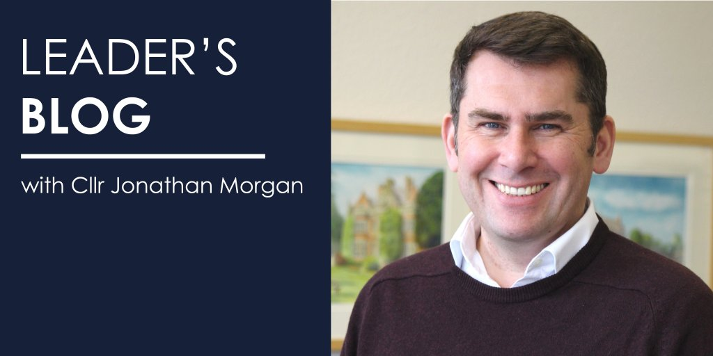 Leader's blog Jonathan Morgan