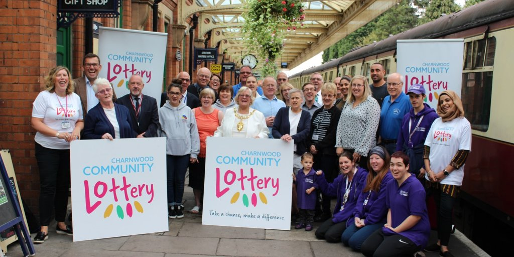 Lottery Launch with Councillors Website