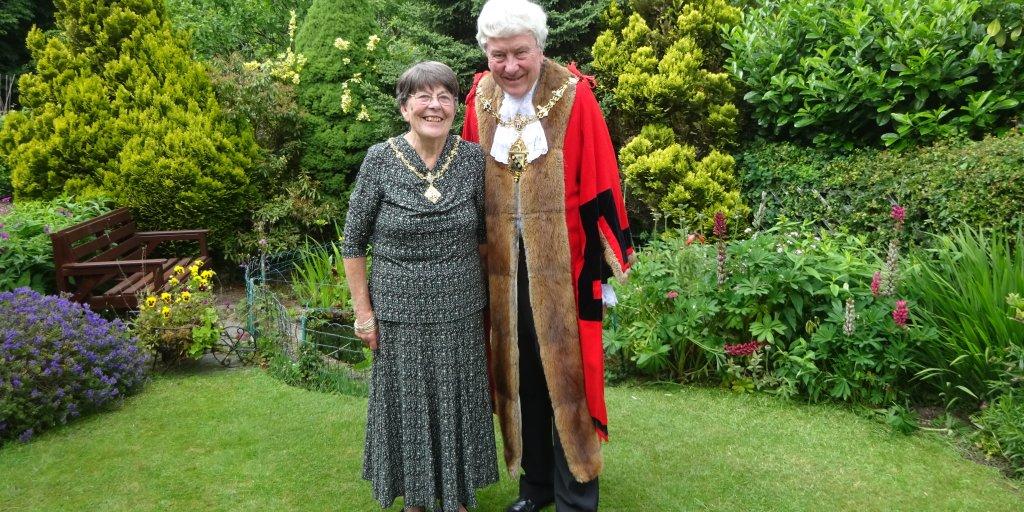 Mayor & Mayoress Snartt - 2020-21
