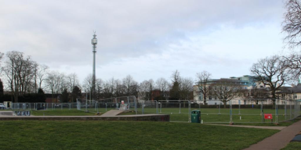 Southfields skatepark extension