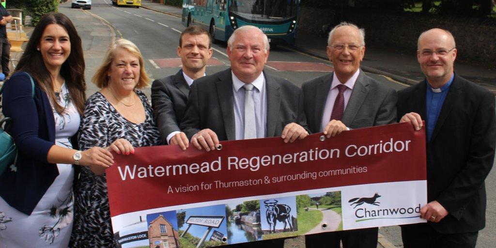 Watermead regeneration corridor launch
