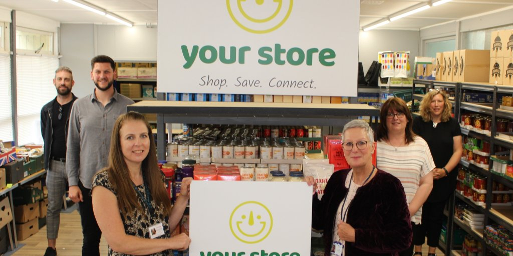 The launch of the Your Store social supermarket