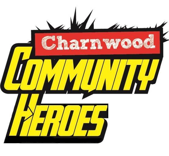 Community heroes logo