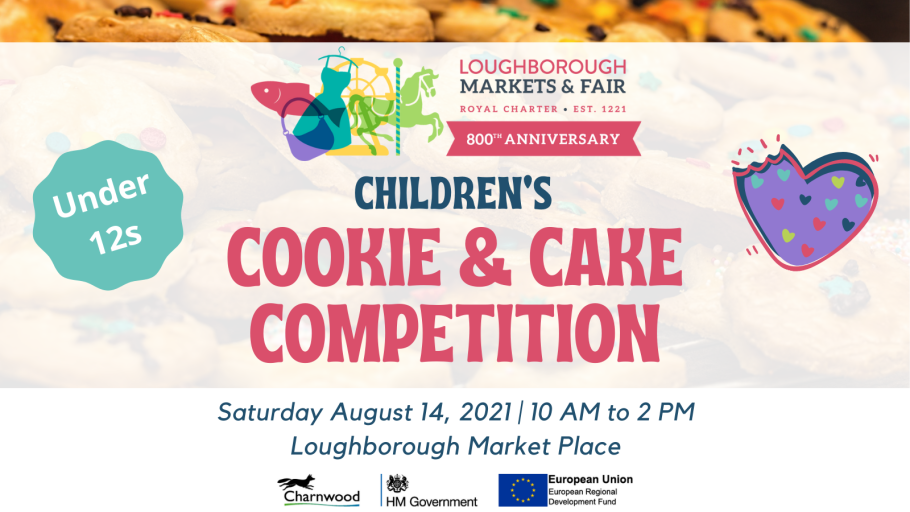 Cookie and cake competition for 800 years markets and fair anniversary