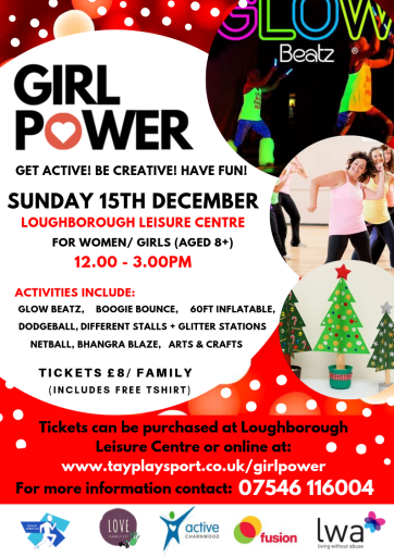 Our Girl Power Event Poster