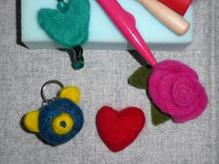 Articles 3947 Idg5 JPf25 G UD Beginners Needle Felting