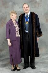 Honorary Alderman Tony Stott & Mrs Stott