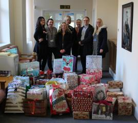 Living without Abuse gift parcel donations