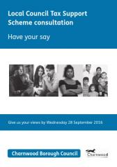 Local Council Tax Support Scheme Consultation