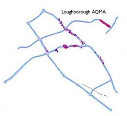 Loughborough AQMA