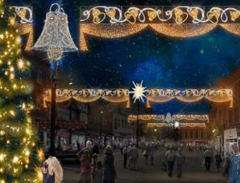 Christmas Lights - Artists Impression