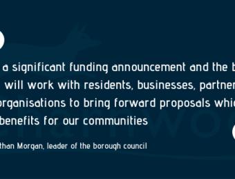 Cllr Morgan Town Centre Quote