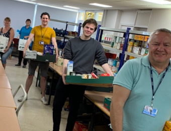 Community Action food bank