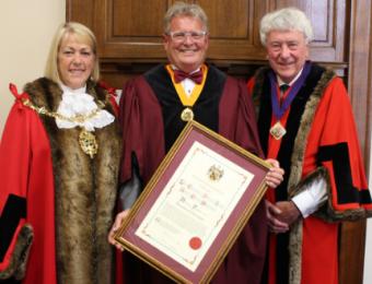 Honorary Freeman