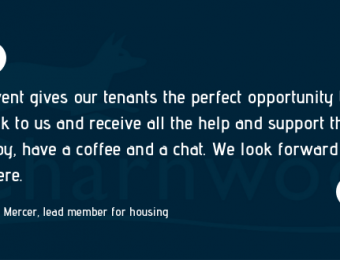Invitation to networking event for tenants and leaseholders