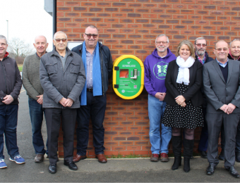 Sileby Town FC defib story