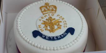 Armed Forces Veteran logo