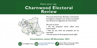 A consultation is being held on new ward boundaries in Charnwood