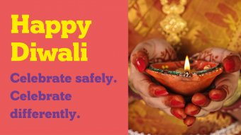 Celebrate differently diwali