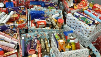 Christmas food parcels