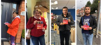 Leaflets were delivered in Charnwood this week reminding residents to follow the guidance on coronavirus