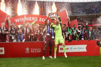 Leicester City FC win the FA Cup