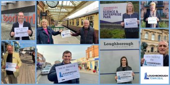 Loughborough Town Deal launch website