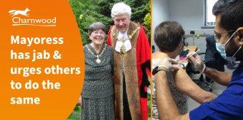 Mayoress gets jab