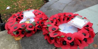 Remembrance Sunday wreaths