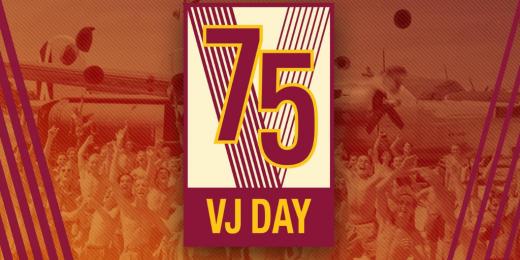 VJ Day logo