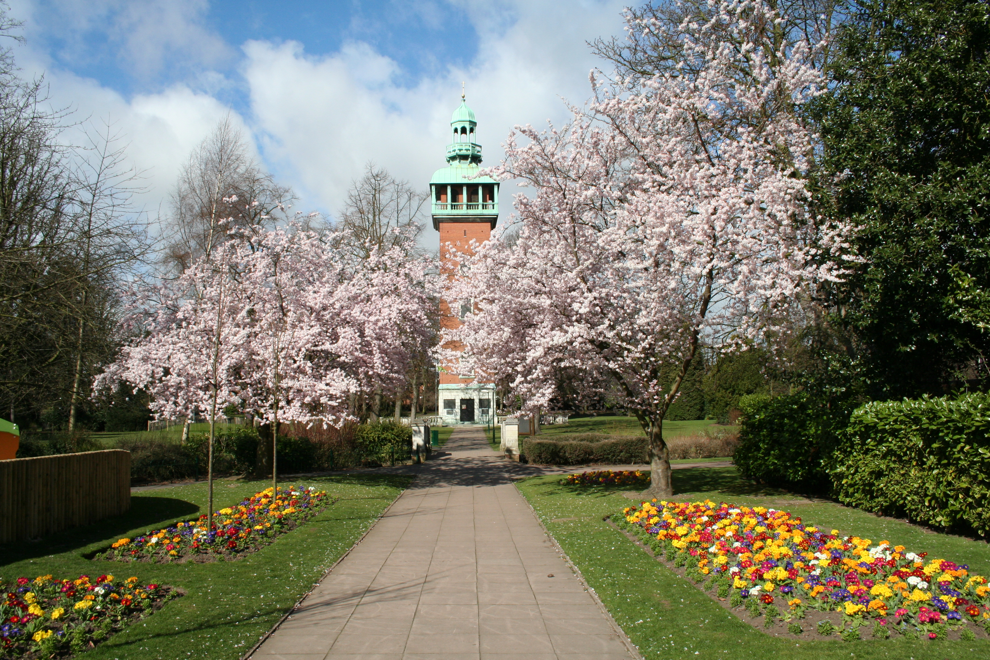 Queen's Park - Parks and open spaces - Charnwood Borough Council